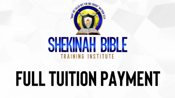 Shekinah Bible Training Program