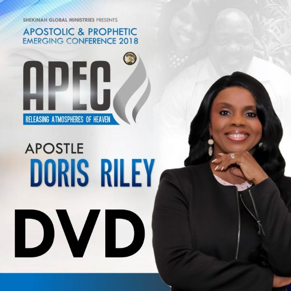 Apostle Doris Riley DVD