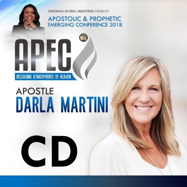 Apostle Darla Martini CD