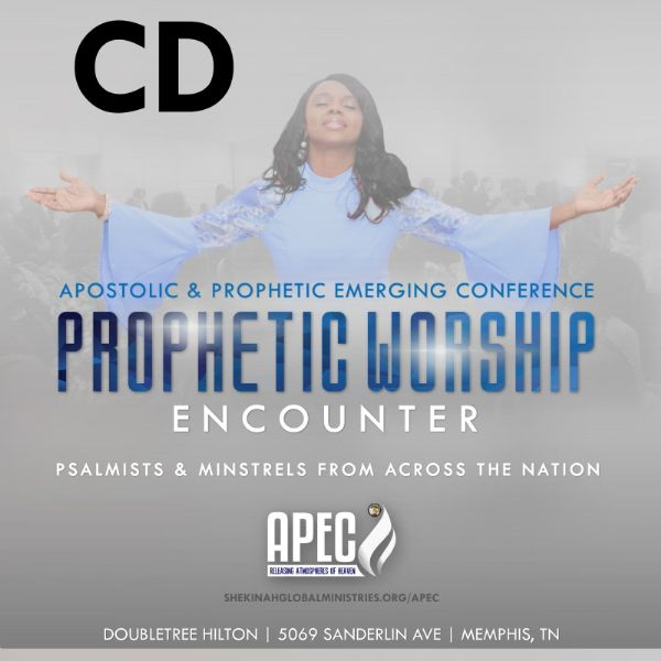 Prophetic Worship Encounter CD